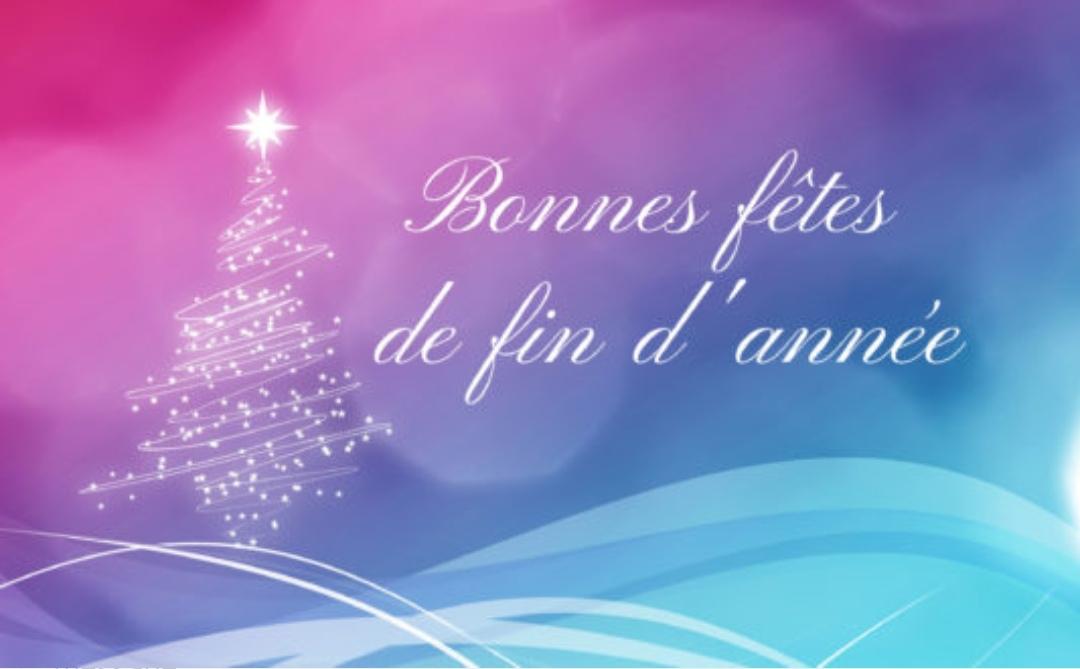 Bonnes Fêtes de Fin d'Année ! - Mairie Le Pin